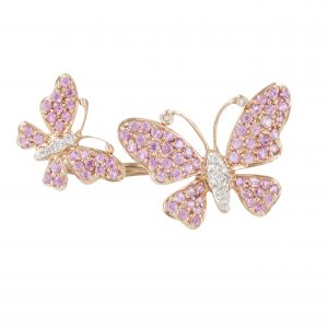 Stefere butterfly mini ring