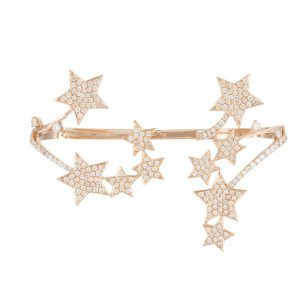 Stefere multi-finger star ring
